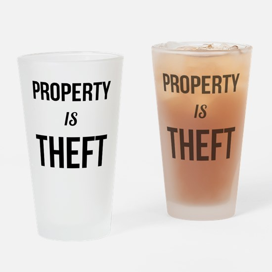 Cute Communist Drinking Glass