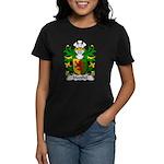 Marshal Family Crest Women's Dark T-Shirt