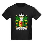 Marshal Family Crest Kids Dark T-Shirt