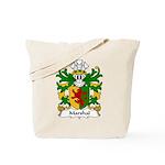 Marshal Family Crest Tote Bag