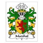 Marshal Family Crest Small Poster