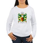 Marshal Family Crest Women's Long Sleeve T-Shirt