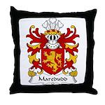 Maredudd Family Crest Throw Pillow