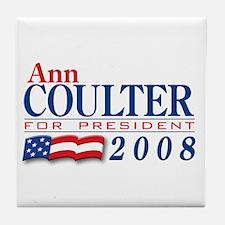VoteWear! Coulter Tile Coaster