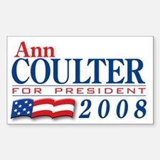 VoteWear! Coulter Rectangle Decal