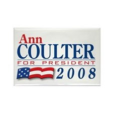 VoteWear! Coulter Rectangle Magnet
