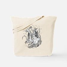 Dancing Dragons Tote Bag