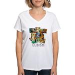 CuboCentennial 1 Women's V-Neck T-Shirt