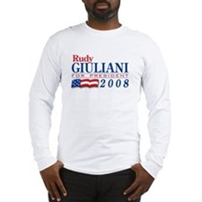 VoteWear! Giuliani Long Sleeve T-Shirt