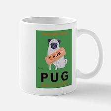 Pug Orange Juice Mug