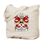 Malephant Family Crest Tote Bag