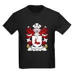 Maenyrch Family Crest Kids Dark T-Shirt