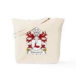 Maenyrch Family Crest Tote Bag
