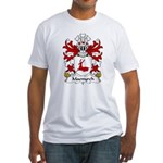Maenyrch Family Crest Fitted T-Shirt