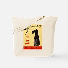 Schnauzer Bars Tote Bag