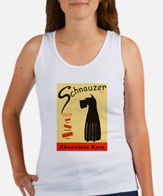 Schnauzer Bars Women's Tank Top