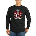 Madog Family Crest Long Sleeve Dark T-Shirt