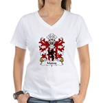 Madog Family Crest Women's V-Neck T-Shirt