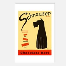 Schnauzer Bars Postcards (Package of 8)