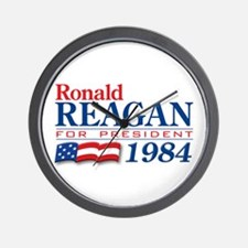 VoteWear! Reagan Wall Clock