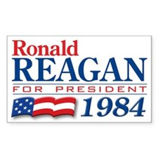 VoteWear! Reagan Rectangle Decal