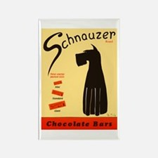 Schnauzer Bars Rectangle Magnet (10 pack)