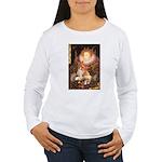 Queen / Welsh Corgi Women's Long Sleeve T-Shirt