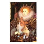 Queen / Welsh Corgi Postcards (Package of 8)