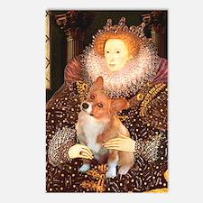 Queen / Welsh Corgi Postcards (Package of 8)