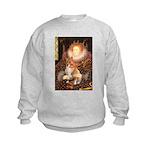 Queen / Welsh Corgi Kids Sweatshirt