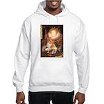 Queen / Welsh Corgi Hooded Sweatshirt