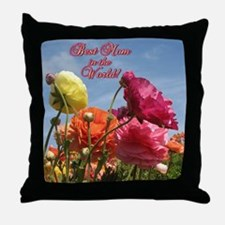 Helaine's Mother's Day 5 Throw Pillow