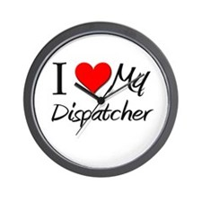 I Heart My Dispatcher Wall Clock