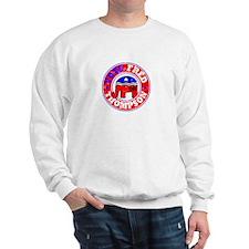 Vote Fred for Pres! Sweatshirt