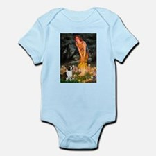 Fairies / Welsh Corgi Infant Bodysuit