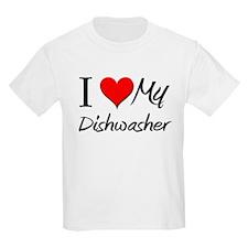 I Heart My Dishwasher T-Shirt