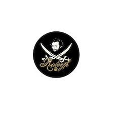Raleigh Pirate Insignia Mini Button (100 pack)