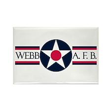 Webb Air Force Base Rectangle Magnet