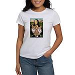 Mona / Corgi Pair (p) Women's T-Shirt