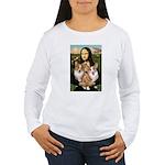 Mona / Corgi Pair (p) Women's Long Sleeve T-Shirt