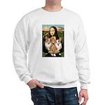 Mona / Corgi Pair (p) Sweatshirt