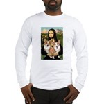Mona / Corgi Pair (p) Long Sleeve T-Shirt