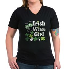 Irish Wine Girl Shirt