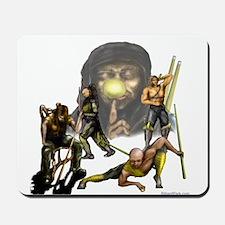 Warriors of Pool Mousepad