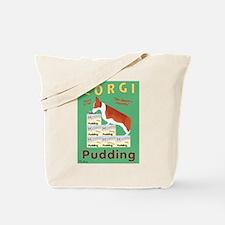 Corgi Pudding Tote Bag
