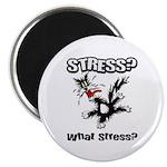 Stressed Cat Magnet