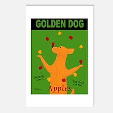 Golden Dog Postcards (Package of 8)