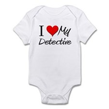 I Heart My Detective Infant Bodysuit