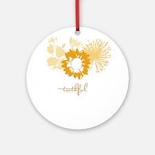 truthful Ornament (Round)