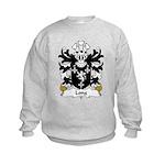Long Family Crest Kids Sweatshirt